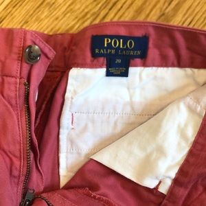 Nantucket red polo by Ralph Lauren shorts